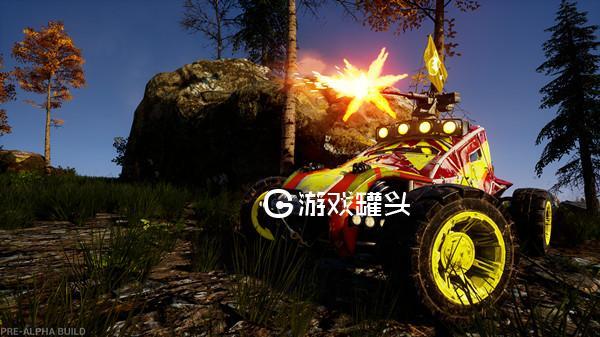 notmycar绝地飞车载具吃鸡游戏 游戏版速度与激情照片