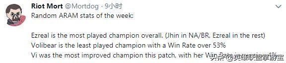 英雄联盟设计师推特动态表示 2020季前赛已开始规划新英雄即将来临