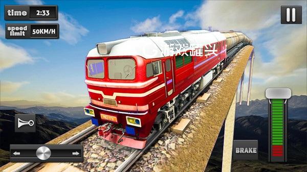 空中火车模拟器