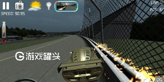 3D赛车网页
